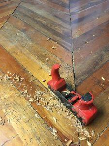 restauro palchetto parquet