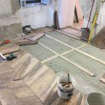rimontaggio pavimento ligneo