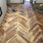 restauro pavimento in legno antico